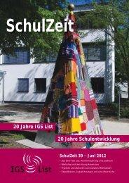Schulzeit 39-12.indd - IGS List Hannover