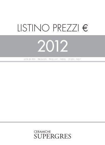 LISTINO PREZZI € - BEST