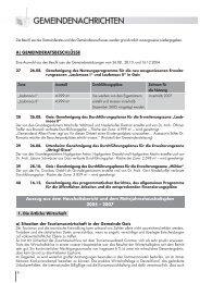 Ausgabe 01/2005 Gemeindenachrichten Teil 1