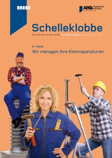 Schelleklobbe Ausgabe Dezember 2010 - ABG Frankfurt Holding