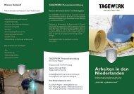 hochauflösende Version (PDF, 6.5 MB) - Tagewerk ...