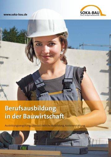 Berufsausbildung in der Bauwirtschaft - Gemeinnützige ...