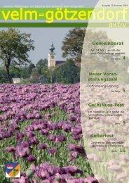 Ausgabe 11 - Velm-Götzendorf