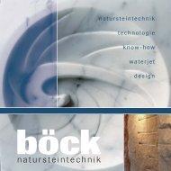 Firmeninfobroschüre (4,4MB) - Stein-boeck.de
