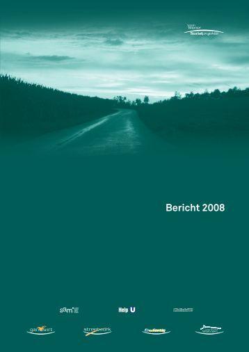 Jahresbericht VWS 2008 - Suchthilfe Wien gGmbH