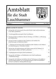 Amtsblatt 05/2001 - Stadt Lauchhammer