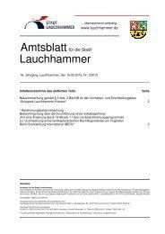 Amtsblatt 03/2012 - Stadt Lauchhammer