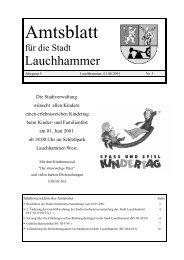 Amtsblatt 03/2001 - Stadt Lauchhammer