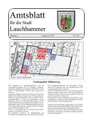 Amtsblatt 05/1999 - Stadt Lauchhammer