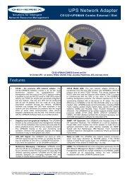 UPS Network Adapter - Meta System Deutschland