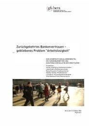 Sorgenbarometer 2006 - Credit Suisse eMagazine