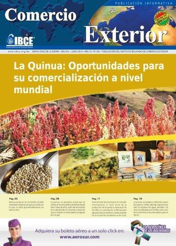 La Quinua: Oportunidades para su comercialización a nivel ... - IBCE