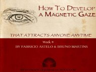 How To Develop a Magnetic Gaze That Attracts - Home - Magnetic ...