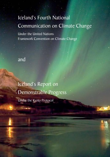Iceland's Fourth National Communication on Climate Change and ...