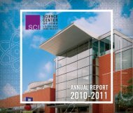Download our 2010-2011 Annual Report - Science Center of Iowa