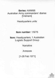 AWM95, 1/6/75 - Australian War Memorial