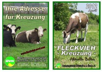 FLECKVIEH-Kreuzung 2012-04.pub - Fleckvieh Nord