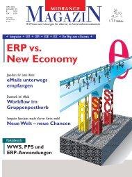 ERP als Wegbereiter der New Economy - Midrange Magazin
