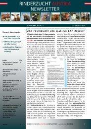 ZAR Newsletter 8 / 2012