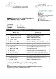 Klaus Brummel Protokoll - Krebsverband Baden-Württemberg