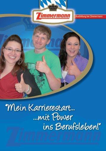 """""""Mein Karrierestart... ...mit Power ins Berufsleben!"""" - Fleischwerke ..."""