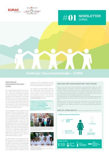 Newsletter der CHRIS-Studie