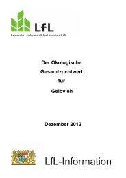 Ökologischer Gesamtzuchtwert Gelbvieh - Bayerische ...