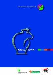 Hauptkatalog 2010/2011 (PDF 5MB) - Besamungsstation Perkohof
