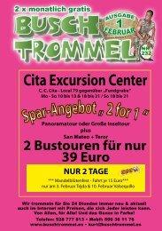 Cita Excursion Center - Buschtrommel
