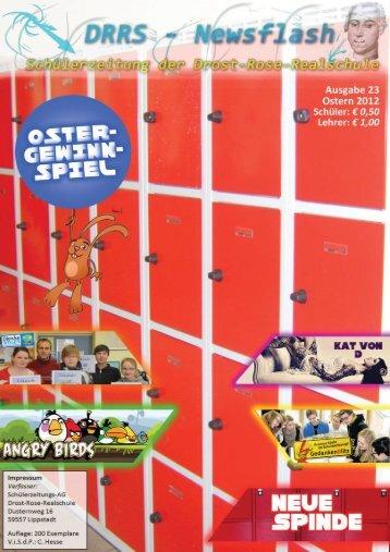 Gesamtausgabe 23 - Ostern 2012 - Drost-Rose-Realschule