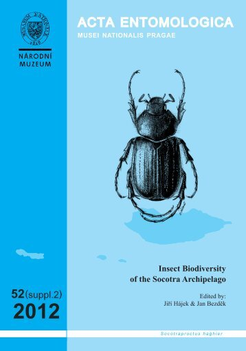 Acta Entomologica Musei Nationalis Pragae