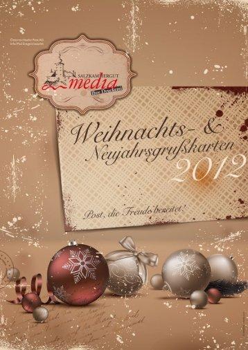 Weihnachtskatalog 2012 - Salzkammergut Media GmbH