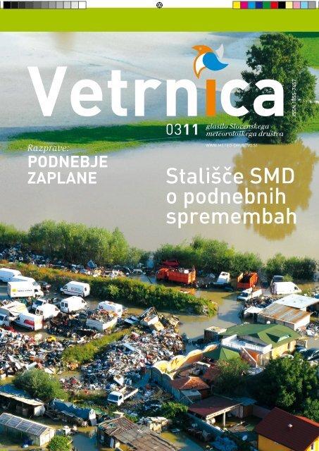 Vetrnica 03/11 - Marec 2011 (pdf, 30 Mb - Slovensko meteorološko ...