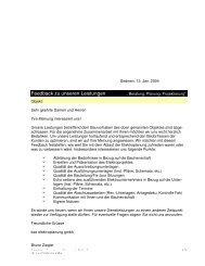 Feedback Architekt im pdf-Format - bze elektroplanung gmbh