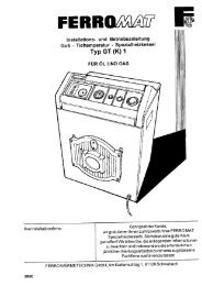Neues Dokument - ferro wärmetechnik