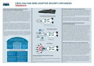 Überblick CISCO ASA 5500 Serie Adaptive ... - Gera-Web GmbH