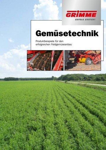 Gemüsetechnik - bei Grimme