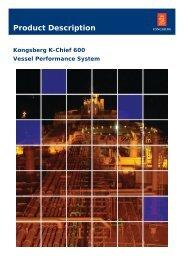 Product description - K-Chief 600 Vessel Performance System