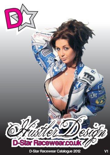 D-Star Racewear Product Catalogue 2012 v1.2
