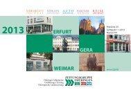 erfurt gera weimar 2013 - Zeitungsgruppe Thüringen