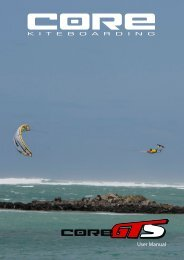 User Manual v1.0 - CORE kiteboarding