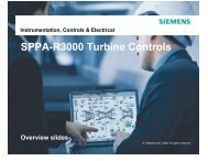 Instrumentation, Controls & Electrical - Siemens Energy