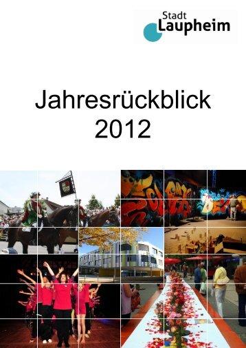 Jahresrückblick 2012 - Laupheim