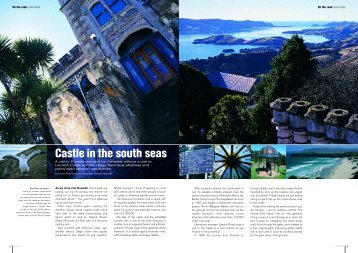 Castle in the south seas - Honda New Zealand