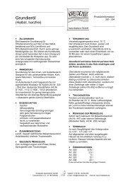 Grundieröl - Kreidezeit Naturfarben GmbH