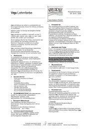 Vega Lehmfarbe - Kreidezeit Naturfarben GmbH