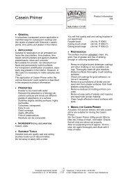 Casein Primer - Kreidezeit Naturfarben GmbH