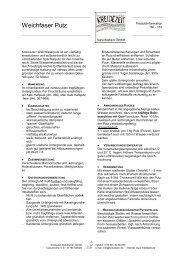 Weichfaser Putz - Kreidezeit Naturfarben GmbH