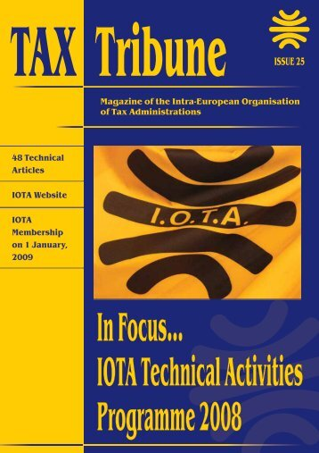 Information Technology in Tax Administrations - IOTA