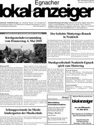 04.05.2010 - in der Gemeinde Egnach